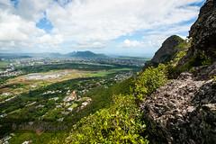 Junction Peak (rubared) Tags: travel mountain holiday landscape ridge mauritius moka 2014 mokarange junctionpeak mokamountainrange