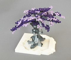 Fantasy-tree (3) (adde51) Tags: tree grey spring purple lego fantasy moc adde51