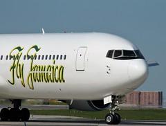 Fly Jamaica B767 N767WA YYZ 05/2016. (Ahmed's Eye !) Tags: new toronto bay fly wings aviation air lot kingston zealand jamaica boeing pearson yyz montego b767 b767300er b767319er n767wa