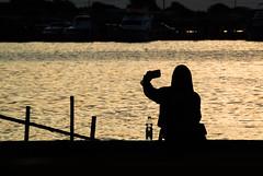 (Irwin Day) Tags: siluet muara karang selfie angke