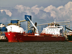 STI Tribeca (Nicober!!!) Tags: canada river ship quebec scorpio stlawrence tribeca stlaurent sti tanker tankers fleuve petrolier chemicaloil