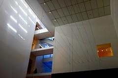 MoMA (h4mster) Tags: nyc newyorkcity building art museum architecture contemporaryart modernart indoor moma fujifilm x100s