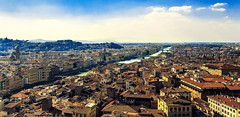 Florence panorama (Arutemu) Tags: city italien urban italy panorama beautiful beauty architecture canon landscape florence italian europe italia european cityscape view eu ciudad panoramic medieval tuscany vista firenze fullframe toscana tamron renaissance ville  6d palazzovecchio         tamron28300     eos6d  canon6d