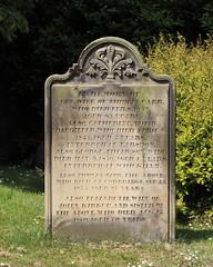 St Andrew, Corbridge (davewebster14) Tags: churchyard standrew gravestone corbridge headstone