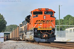 NS 736 at Jersey Pike (KD Rail Photography) Tags: chattanooga industrial ns tennessee fallcolors trains transportation coal bnsf railroads norfolksouthern emd burlingtonnorthernsantafe sd70mac sd70ace coaltrains