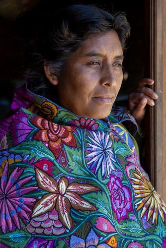 Maria de Zinacantán, Chiapas, México