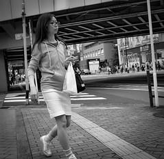 Kichijoji-4 (Bill Morgan) Tags: street bw tokyo fuji fujifilm kichijoji lightroomcc x100t