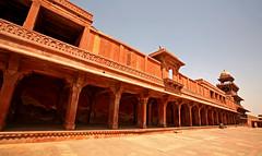 Fatehpur Sikri Palace 113 (David OMalley) Tags: india muslim islam agra palace mosque pilgrimage akbar masjid allah islamic pradesh fatehpur sikri muhammed uttar jama darwaza buland sikari vijaypur