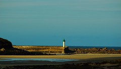(MATIGRA) Tags: sea mer lighthouse seascape dogs birds port canon boat seaside brittany bretagne bateaux bordercollie 29 phare paysages oiseaux chiens bzh finistere arbour borddemer 700d mogueriec plougoulm