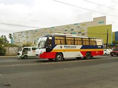 Philtranco 1868 (Monkey D. Luffy 2) Tags: road city bus public transport motors vehicles transportation daewoo vehicle santarosa society davao philippine enthusiasts cityliner bf106 philbes