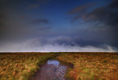 """ MOUNTAIN WAVES "" (Wiffsmiff23) Tags: breconbeaconsnationalpark mist misty clouds cloud rugged dramatic drama epic serene tranquil"