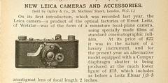 Compur Leica (Roseman's) Tags: leica1 leicai compurleica leicaadvert compurleicadialset
