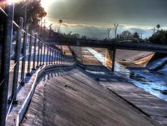 #winnetka st. #bridge #losangeles #bikepath #hdr (GunTotingLiberal) Tags: bridge bikepath losangeles hdr winnetka