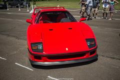 F40 (Hunter J. G. Frim Photography) Tags: red classic vintage ferrari turbo manual expensive rosso rare supercar v8 corsa f40 ferrarif40 rossocorsa cfcharities