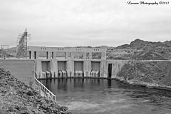 Parker Dam (Laveen Photography (aka cyclist451)) Tags: arizona az california ca coloradoriver dam parker black white bw blackandwhite blackwhite monotone