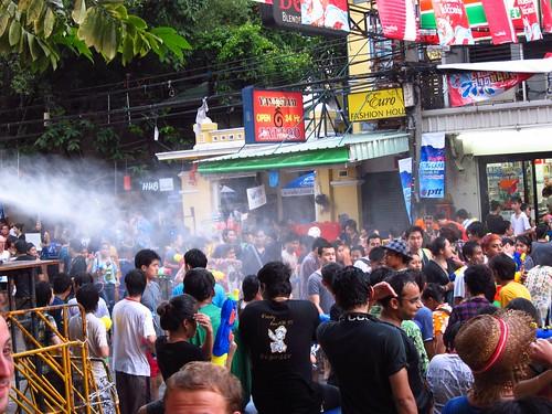 Songkran on Khao San Road
