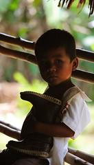 (Mauricio Romero Mendoza) Tags: retrato selva recuerdo vida mirada infancia nio comunidad rostro infante amazonas indgena indigena maloca territorio ticuna tikuna amazona resguardo pantanera