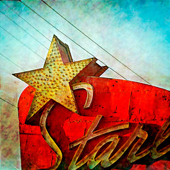 prcssd. south el monte, ca. 2012. (eyetwist) Tags: california red signs postprocessed texture sign photoshop square typography star la losangeles los theater graphic angeles text letters drivein socal numbers worn signage type script processed vignette blvd typographic supersaturated postprocessing starlite lensblur secretrecipe rosemead angeleno digixpro signaltonoise southelmonte prcssd eyetwistkevinballuff
