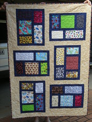 'Nursery' windows (jam_232) Tags: squares quilts patchwork rectangles kitchenwindows