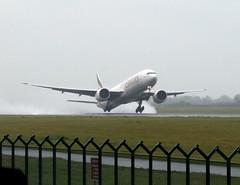 Emirates 'A6-EBC' first B777 on Dublin - Dubai EK162. (Longreach - Jonathan McDonnell) Tags: ireland dublin emirates airline boeing departure takeoff 777 boeing777 emiratesairlines omdb eidw 77736ner a6ebc مطاردبيالدولي ek162rain