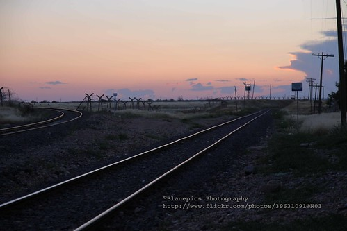 Karkamış, railway station, border to Syria at sunset