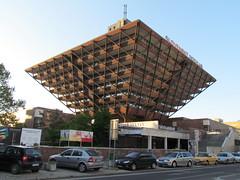 Budova Slovenskho rozhlasu, Bratislava (twiga_swala) Tags: building architecture radio pyramid slovakia inverted bratislava slovak budova slovenskho soviert rozhlasu