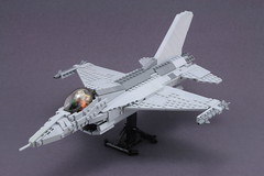 f-16 (psiaki) Tags: airplane fighter force lego air jet f16 falcon moc mar31