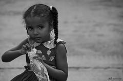 Menina com brinco de prola // Girl with a pearl earring (fcribari) Tags: brazil portrait blackandwhite bw girl brasil nikon retrato pb recife menina pretoebranco pernambuco d7000