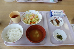 hospital food 15. my very last meal at the hospital. it's nothing special. same as always. (haxo..) Tags: japan hospital iwate tray morioka ulcerative colitis
