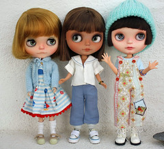My current Blythe family...