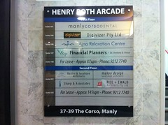 Directional Henry Roth Arcade