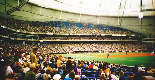 Tropicana Field, St. Petersburg (Fla.), 31 May 1998