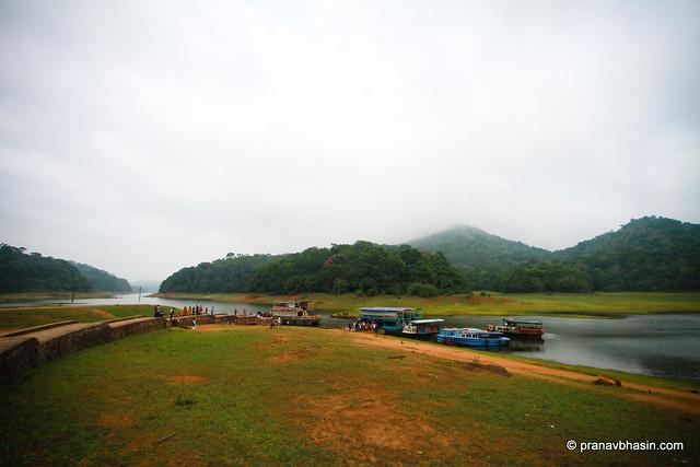 Misty Morning At Periyar Tiger Reserve, Thekkady