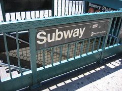 Subway (derekb) Tags: ny newyork subway