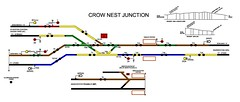 Crow Nest Junction Diagram (wigan signaller) Tags: station nest railway junction diagram crow northern signal hindley signalling northernrail networkrail westhoughton crownestjunction