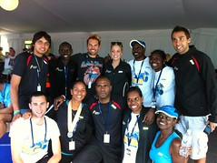 """The team with actor, and runner, Daniel MacPherson • <a style=""""font-size:0.8em;"""" href=""""https://www.flickr.com/photos/64883702@N04/7499533836/"""" target=""""_blank"""">View on Flickr</a>"""