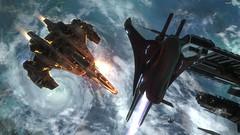 Halo Reach_Encuentro cercano (Ravzem) Tags: fighter space halo banshee sabre saber reach campaign espacial caza espacio covenant campaña unsc longnightofsolace larganochedeconsuelo anchor9