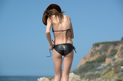 Nikon D800 Photoshoot of Pretty Swimsuit Bikini Model Goddess on Malibu ...