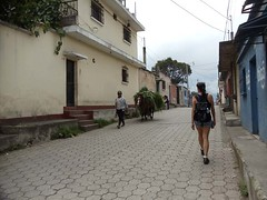 Angela of Livingston - Part 2 (AntiguaGuatemalaTravel Photos) Tags: love hotel guatemala story antigua angela livingston leddie