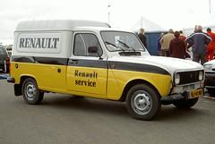Renault 4 F6 Service Van 22-5-1984 BJ-41-NH (Fuego 81) Tags: 4 renault 1984 service van f6 bestelwagen grijskenteken bj41nh