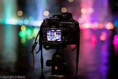 Canon vs Nikon (M.Bob) Tags: camera colors night nikon asia bokeh petronas malaysia kualalumpur fountains reflexions klcc manfrotto canonef24105mmf4lisusm ef24105f4lis canoneos5dmarkiii