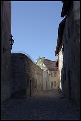 Backyards (thinkfat (catching up)) Tags: street canon tallinn estonia ef50mmf14 cobblestone oldtown 2012 digikam eos5dmarkii