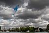 Moody sky on Paris (Michel Couprie) Tags: bridge sky paris france church seine clouds canon river eos cathedral wideangle notredame 7d
