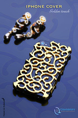 golden Iphone cover [5/7] (Fahad Al-Robah) Tags: mobile gold for golden dress propaganda cover commercial iphone