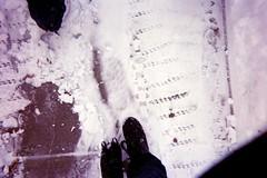 (stuckinthelbyrinh) Tags: winter snow film fashion march shoes boots sierra etc brash sierrakusterbeck kusterbeck
