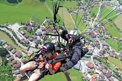 Noel on air (Fozzman) Tags: city alps village view noel paragliding birdseye 2012 zillertal mayrhofen