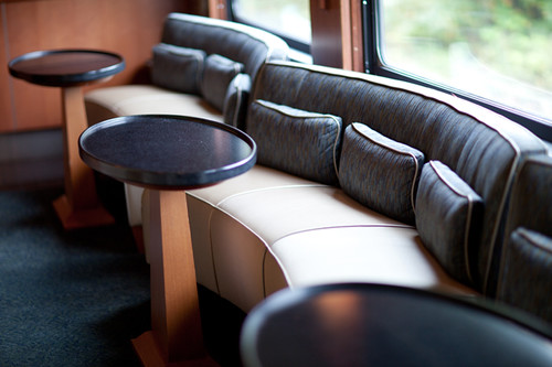 Lounge, The Rocky Mountaineer from The Luxury Train Club