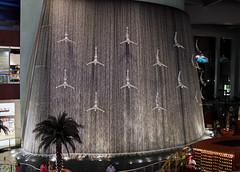 Dubai waterfall. Dubai Mall. (elsa11) Tags: mall waterfall dubai uae shoppingmall unitedarabemirates dubaimall dubaiwaterfall