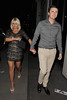 Billie Faiers outside Funky Buddha nightclub. London, England