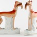 203. Pair of Staffordshire Greyhounds